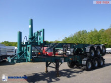 Semirimorchio portacontainers Tinsley Stack - 2 x container trailer (tipping)
