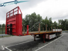 Fruehauf flatbed semi-trailer Palletbak