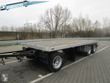 Burg 3-as open aanhanger trailer used flatbed