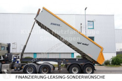 semi remorque Langendorf SKA 18/28 Alukastenmulde Rollplane Luftgefedert