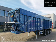Stas BODEX KIS3B / Vollalu / 51 m3 / Lift / MIETEN ? semi-trailer used tipper