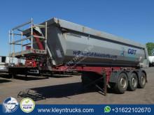 trailer Meiller HARDOX HALFPIPE 27m3 saf lift axle