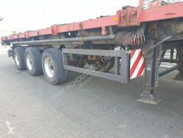 Semitrailer Schmidt SP 34, SP, 3-Achs-Tele, 2+3. Achse zw-gelenkt platta begagnad