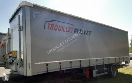 Used tautliner semi-trailer Trouillet