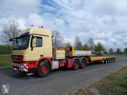 Goldhofer heavy equipment transport semi-trailer STZ-L6-60/80A