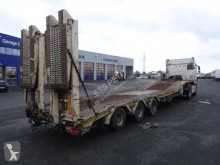 Trax Porte-engin 3 essieux semi-trailer used heavy equipment transport