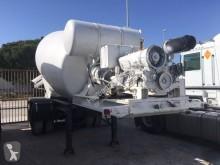 használt betonkeverő + pumpa beton félpótkocsi