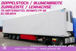 semi remorque Schmitz Cargobull SKO 24 / LENKACHSE / DOPPELSTOCK / BLUMENBREITE