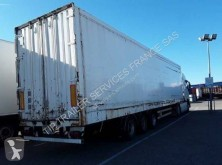 Samro plywood box semi-trailer FOURGON 3 ESSIEUX MEGA