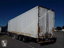 Félpótkocsi Samro FOURGON 3 ESSIEUX MEGA használt polcozható furgon