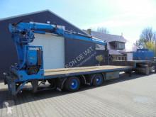 Bulthuis 2-as semie Stuur-as Roller kraan kran crane hiab 130 semi-trailer
