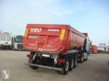 Schmitz Cargobull BENNE ACIER 3 ESSIEUX SAF 1 ESSIEU RELEVABLE SUSPENSIONS AIR semi-trailer used tipper