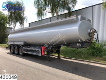 Semi remorque Merceron Fuel 37727 Liter, 3 compartments, 0,32 bar, Disc brakes citerne occasion