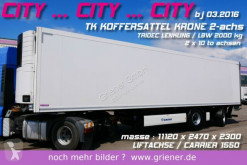 semi remorque Krone SZR 20/ CITY TK KOFFER TRIDEC /LBW / LIFT / CARR