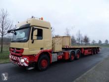 Semi remorque Nooteboom 0VB-44-03V (V) Double Extendable Platform trailer plateau occasion