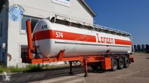 semi reboque Van Hool 30.000L RVS Tank