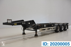 Semiremorca Turbo's Hoet 20 ft gooseneck transport containere second-hand