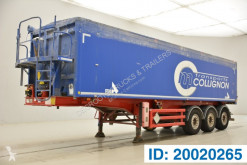 Stas 43 cub in alu semi-trailer used tipper