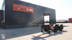 semi remorque Van Hool 20FT ADR-Chassis, galvanisiert, Leergewicht: 2.980kg, BPW
