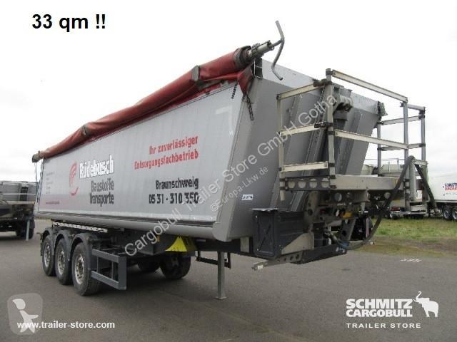 Voir les photos Semi remorque Schmitz Cargobull Kipper Alukastenmulde 33m³