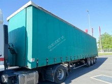 semi remorque General Trailers SR Tautliner 3 essieux + Porte chariot AR