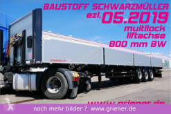 semi remorque Schwarzmüller SATTELPLATEAU BAUSTOFF 800 mm lift MULTILOCK !!!