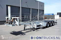 Semi reboque porta contentores LAG O-3-39 04 | 40ft TIPPING CHASSIS * OWN ELECTRO UNIT