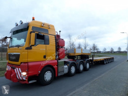 Goldhofer Semi-Trailer STZ-L6 65/62 semi-trailer used heavy equipment transport