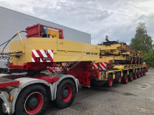 Semi remorque Goldhofer S-THP 35 tons Gooseneck + THP/UT 4+4+4 Axle Modules porte engins occasion