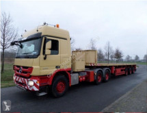 Nooteboom tele-trailer semi-trailer used flatbed