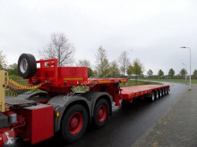 Goldhofer STZ-L6-62.80 semi-trailer used heavy equipment transport
