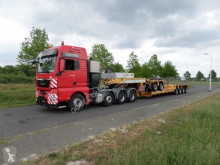 Semi remorque Goldhofer STHP XLE 6 2+4 Low loader porte engins occasion