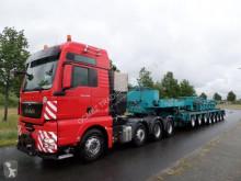 semi remorque Goldhofer THP/SL3 + THP/SL3 + THP/SL2 + excavator Lowbed
