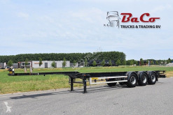 Renders container semi-trailer ROC 12.27 CC - BPW AXLES - DRUM BRAKES - GOOD CONDITION -