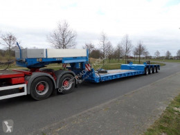 Goldhofer STZ-VL4-43/80A semi-trailer used heavy equipment transport