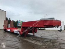 Goldhofer heavy equipment transport semi-trailer Ranke Tiefbett-hydr.Lenkung-Radmulde schwenkbar
