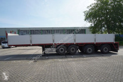 semi remorque Pacton 4 AXLE OPEN BOX WITH ALU SIDE BOARDS