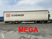 semi reboque Fliegl Mega 3 m Innenhöhe SZS300 Twin2 Achs Planenaufl