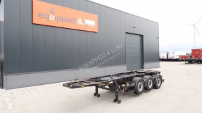 naczepa Van Hool 20FT/3-Achsen, Leergewicht: 3.300kg, SAF INTRADISC, 2x Liftachse, ADR (EXII, EXII, FL, OX, AT), NL-Chassis