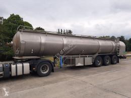 Полуремарке ETA tank in roestvrij staal 29000 L - 6 compartimenten цистерна втора употреба
