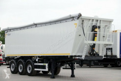 semi remorque Zasław TIPPER 47 M3 / LIFTED AXLE /LIKE NEW/ FLAP-DOORS