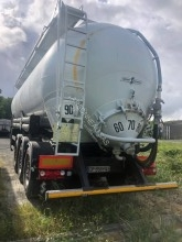 Spitzer Pulvé ADR 43 m3 semi-trailer used powder tanker