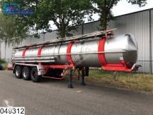 Magyar Chemie RVS tank, 20500 Liter, 4 Bar semi-trailer