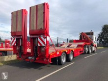 MAC heavy equipment transport semi-trailer