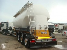 Feldbinder CITERNE PULVE 38T 40M3 3 ESSIEUX SAF SUSPENSIONS AIR semi-trailer used powder tanker
