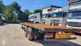 SRR3D semi-trailer used flatbed