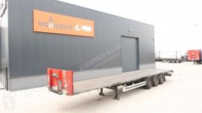 Van Hool SAF INTRADISC, verzinkt, hardhouten vloer, NL-trailer semi-trailer used flatbed