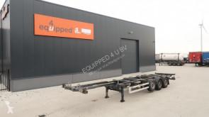 semi remorque Van Hool 40FT HC, SAF+disc (INTRADISC), liftaxle, empty-weight: 5.340kg, LED, 2x available