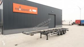 semi reboque Van Hool 40FT HC, SAF+schijf (INTRADISC), liftas, leeggewicht: 5.340kg, LED, 2x beschikbaar
