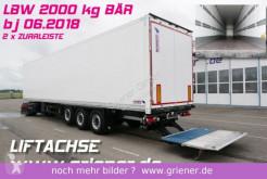 naczepa Schmitz Cargobull SKO 24 /LBW BÄR 2000 KG / 2 x ZURRLEISTE LIFT